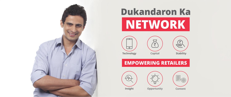 Dukandaron ka Network